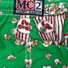 MC2 Saint Barth boxer mare bambino verde stampa Pop Corn
