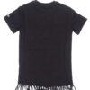MC2 Saint Barth shirt nera topolino con frange