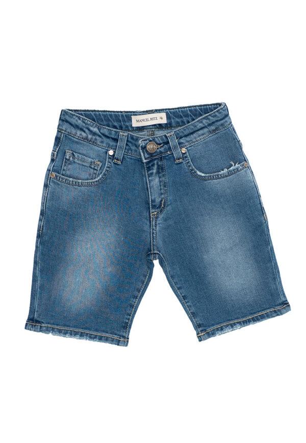Manuel Ritz bermuda jeans