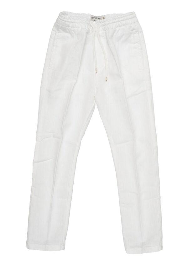 Manuel Ritz pantalaccio bianco