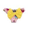 MC2 Saint Barth costume unicorni con fiocco giallo per bambina