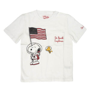 MC2 SAINT BARTH T-SHIRT SNOOPY CON STAMPA