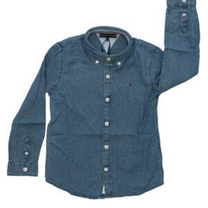 TOMMY HILFIGER JUNIOR CAMICIA IN JEANS