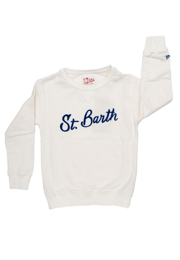 St Barth maglia manica lunga con logo St Barth