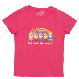 LOVE THERAPY T-SHIRT RAINBOW GNOMES