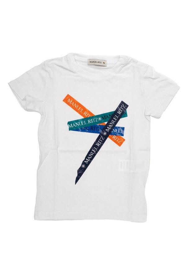 Manuel Ritz t-shirt bianca