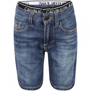 CALVIN KLEIN KIDS BERMUDA IN DENIM