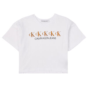CALVIN KLEIN KIDS T-SHIRT CON STAMPA
