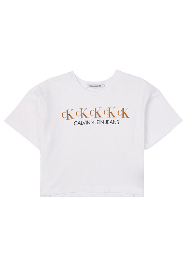 Shirt Calvin Klein boxy con logo