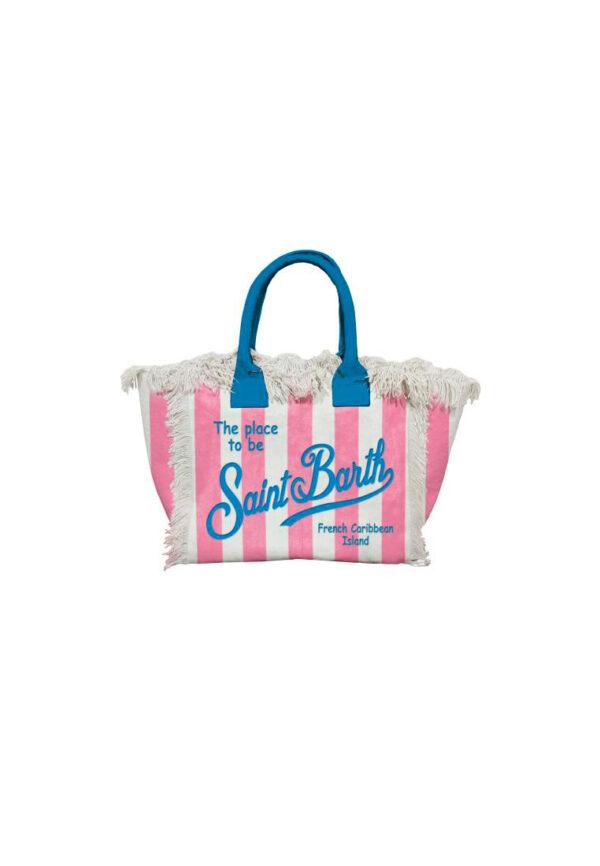 MC2 Saint Barth borsa mare a riche rosa e blu