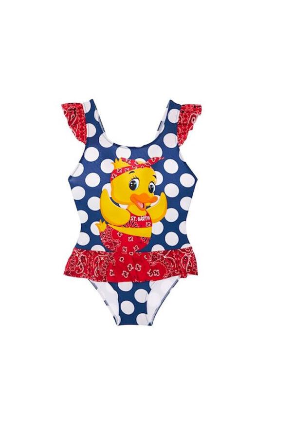 MC2 Saint Barth costume bambina intero pulcino