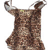 4giveness costume intero bambina motivo leopardo