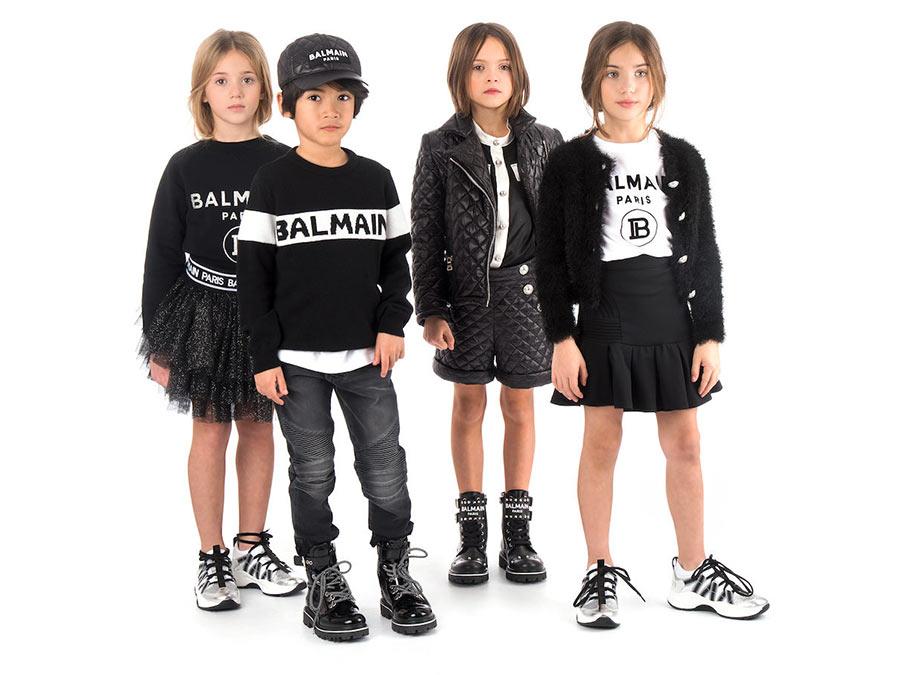 Balmain Kidswear su Amore della Mamma
