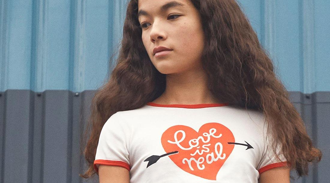 Molo Abbigliamento Bambino Love Is Real