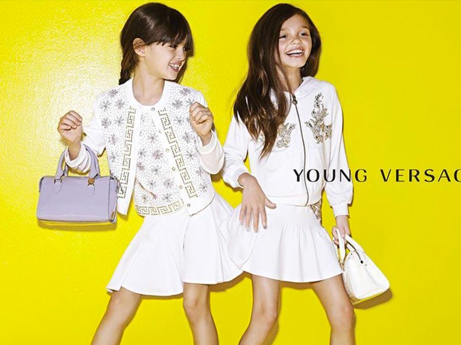 Versace kids wear su Amore della Mamma