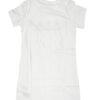 Calvin Klein shirt bambino bianca con logo oro