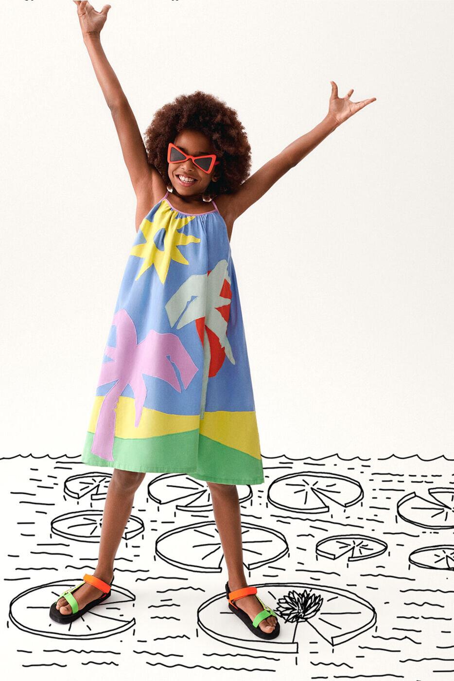 Stella McCartney kids collezione estate 2021 bambina