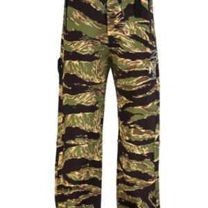Nº21 Kids Pantaloni Sportivi Con Stampa Camouflage