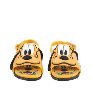 MINI MELISSA Sandali Arancioni Per Bambini Con Pluto