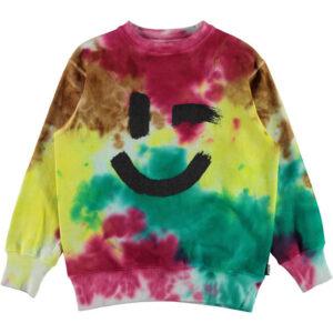 MOLO Felpa Multicolor Con Smile