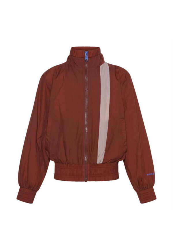 Molo giacca rame per bambina chiusura zip