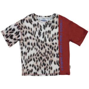 MOLO T-shirt Multicolor Per Bambini Con Logo Blu