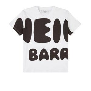 Neil Barrett Kids T- Shirt Con Logo