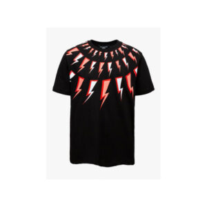 Neil Barrett Kids T- Shirt Con Stampa