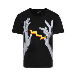 Neil Barrett Kids T-shirt Con Mani